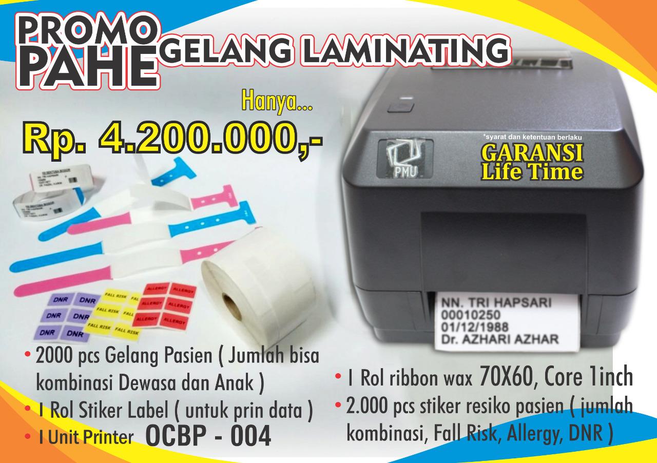 Printer Label OCBP 004